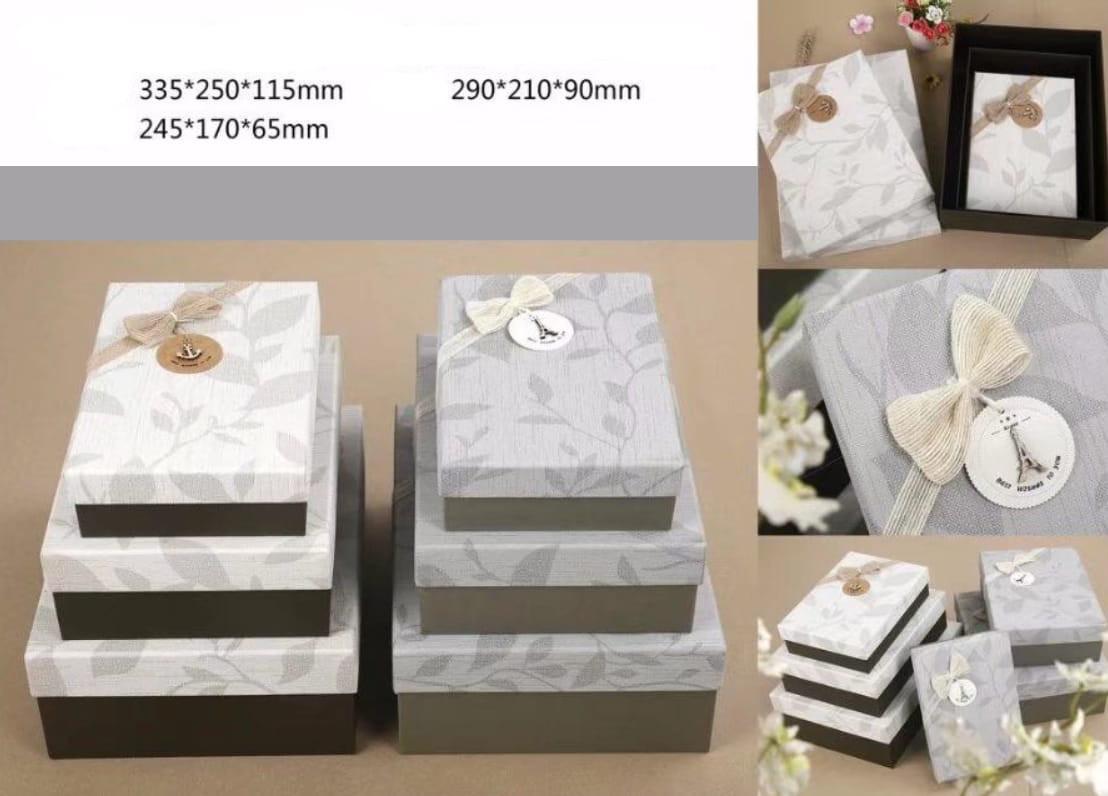 Kinkekarpide komplekt 3tk Boxset17/3