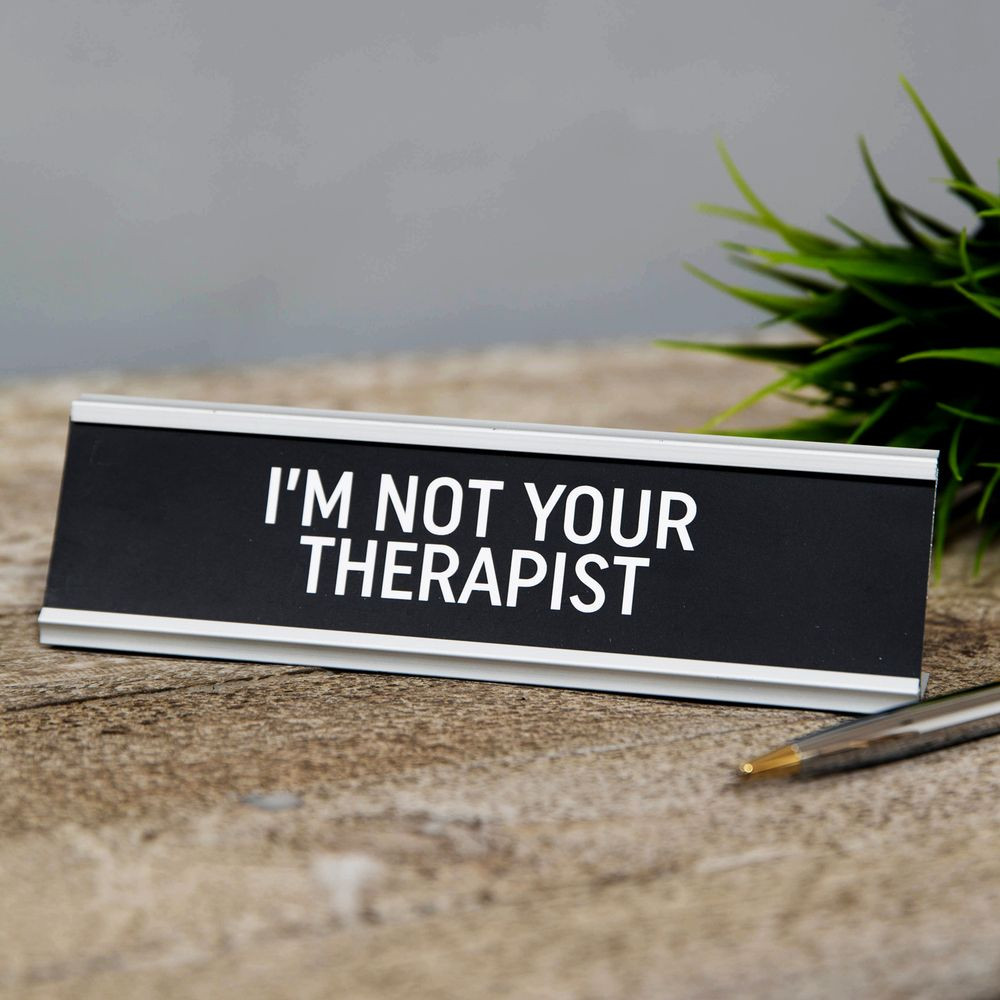 "Lauasilt ""  I´am not Your Therapist ""  HM1865"