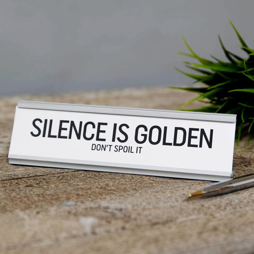 "Lauasilt "" The Silence is Golden ""  HM1855"