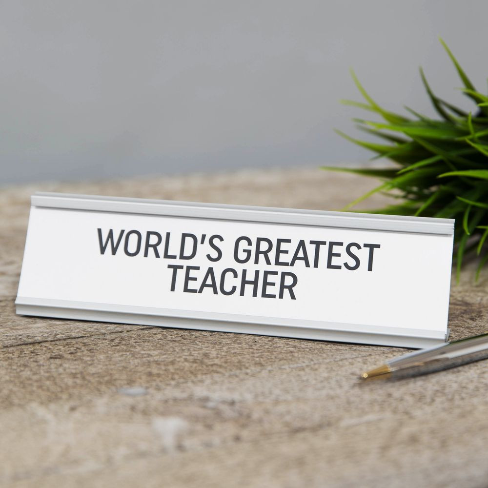 "Lauasilt "" World`s Greatist Teacher ""  HM1860"