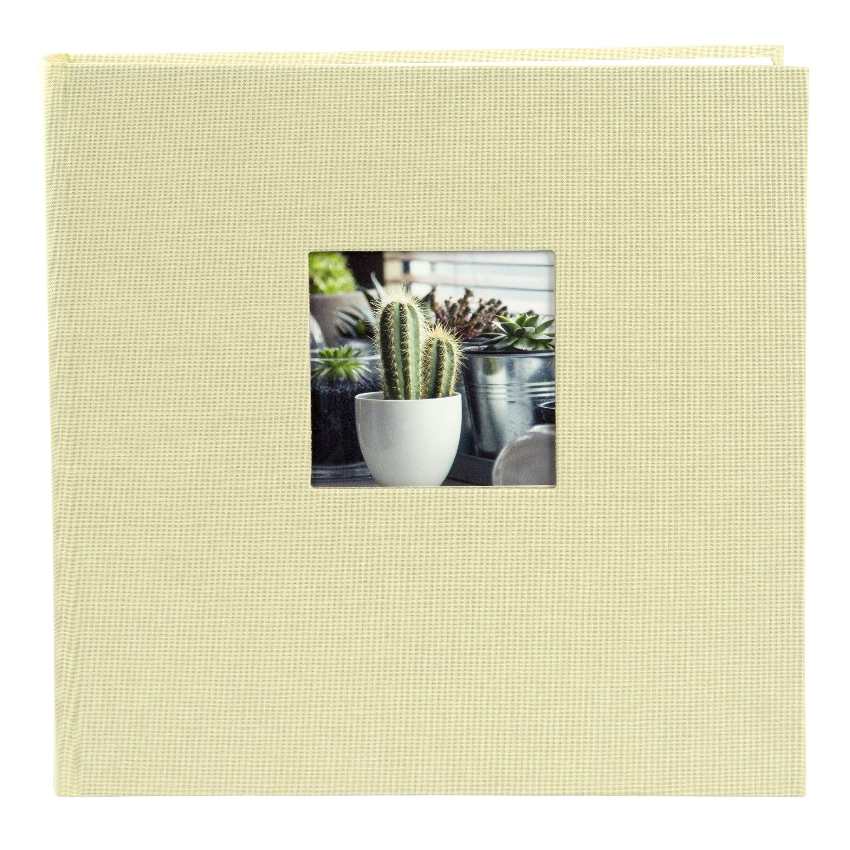Fotoalbum klassikalise lehega 25x25cm Bella Vista 24.828