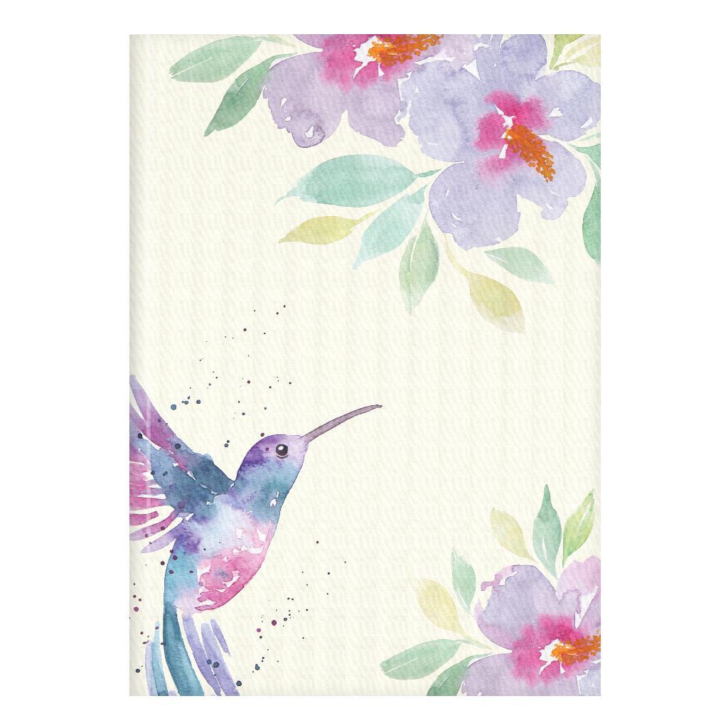 Märkmik A5 200 valget lehekülge Kolibri