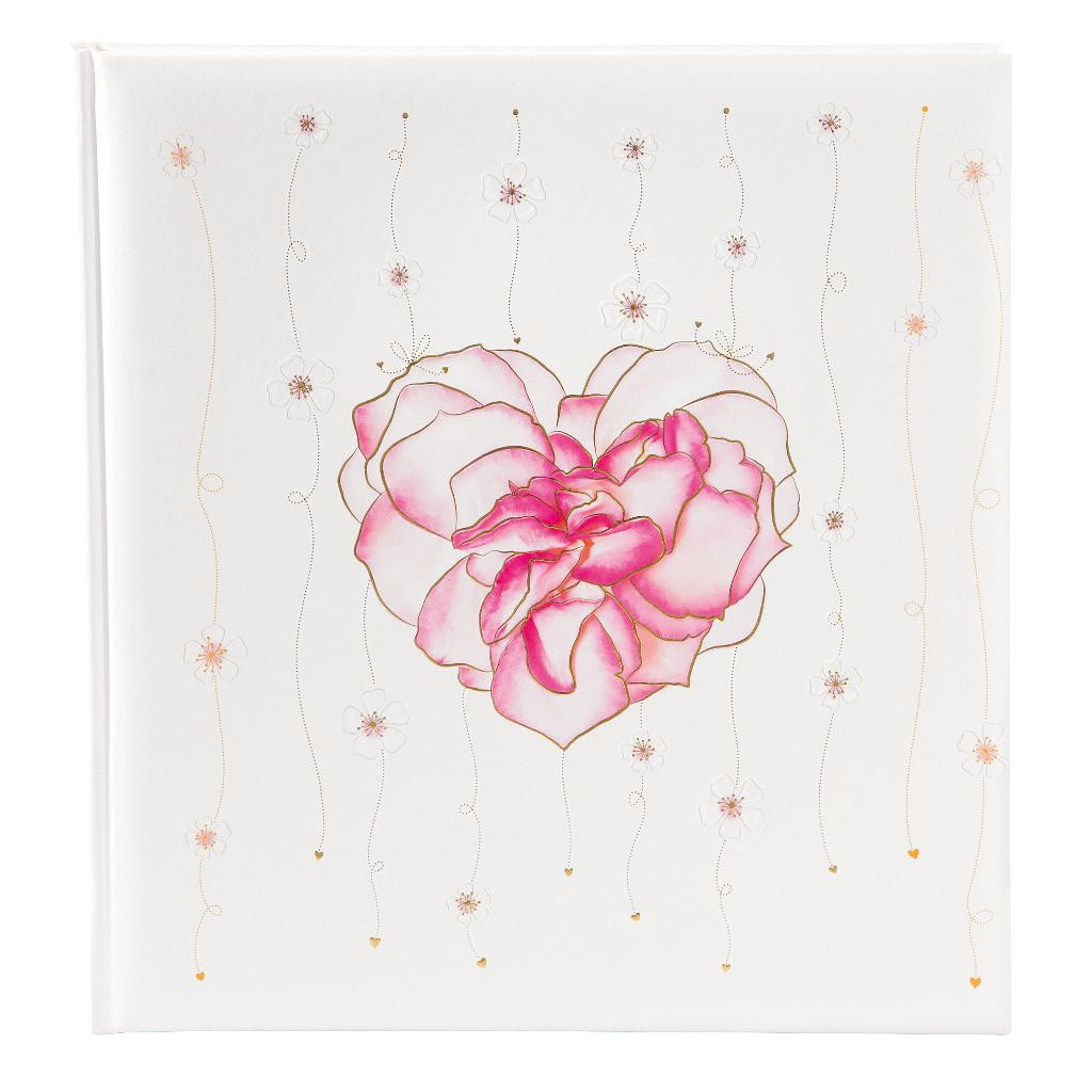 Fotoalbum klassikalise lehega Scent of Roses