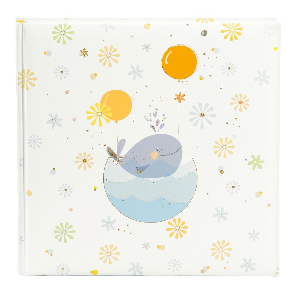 Fotoalbum klassikalise lehega Little Whale sinine 24.766