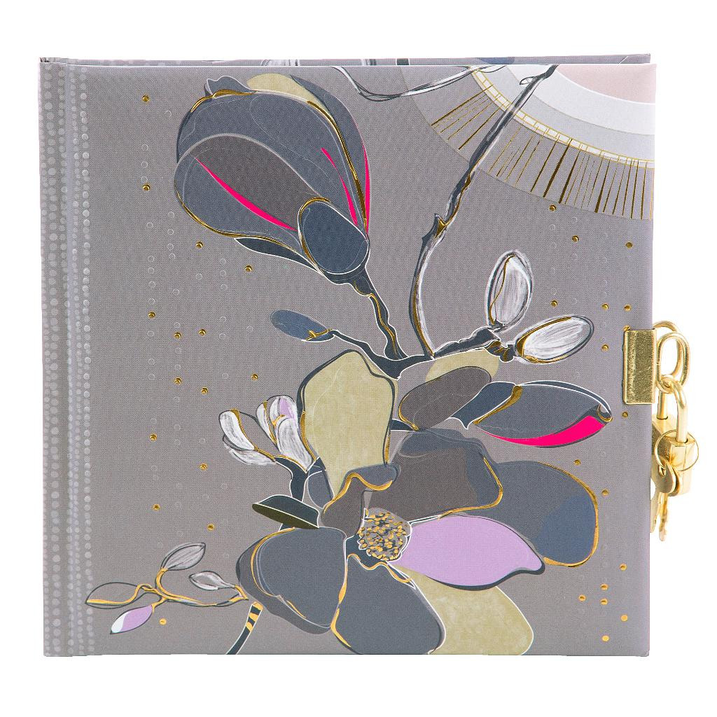 Päevik lukuga Magnolia mündiroheline
