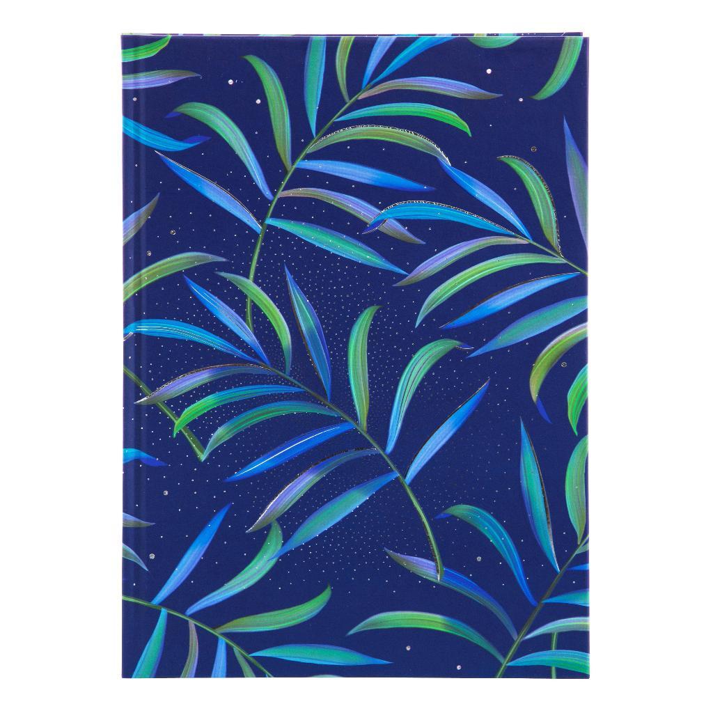 Märkmik A5 200 valget lehekülge Tropical blue
