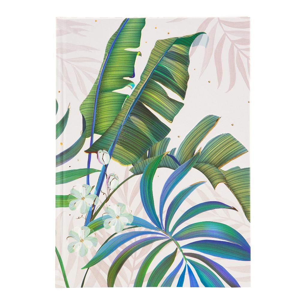 Märkmik A5 200 valget lehekülge Tropical white