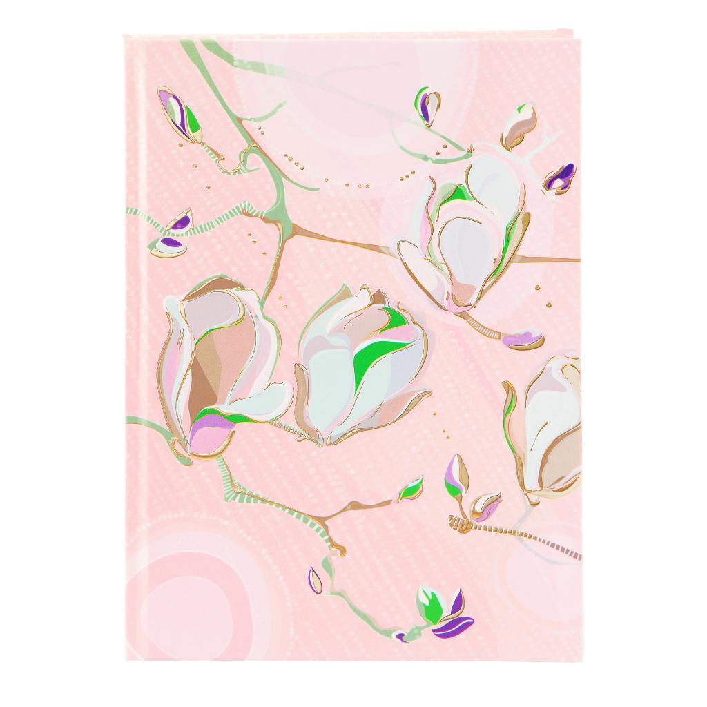 Märkmik A5 200 valget lehekülge Magnolia roosa