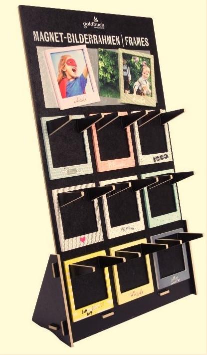 Külmkapimagnet pildiraam 9x9,5 fotole