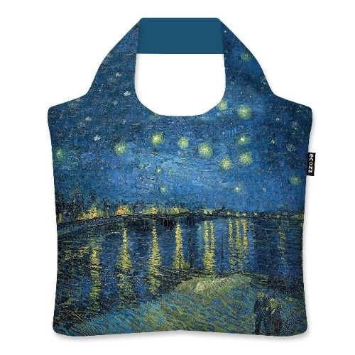 Shopping Bag Starry Night Over the Rhone