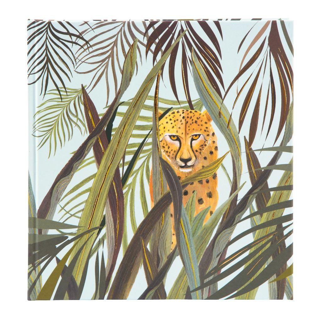 Märkmik 144 valget lehekülge Wild Life Leopard