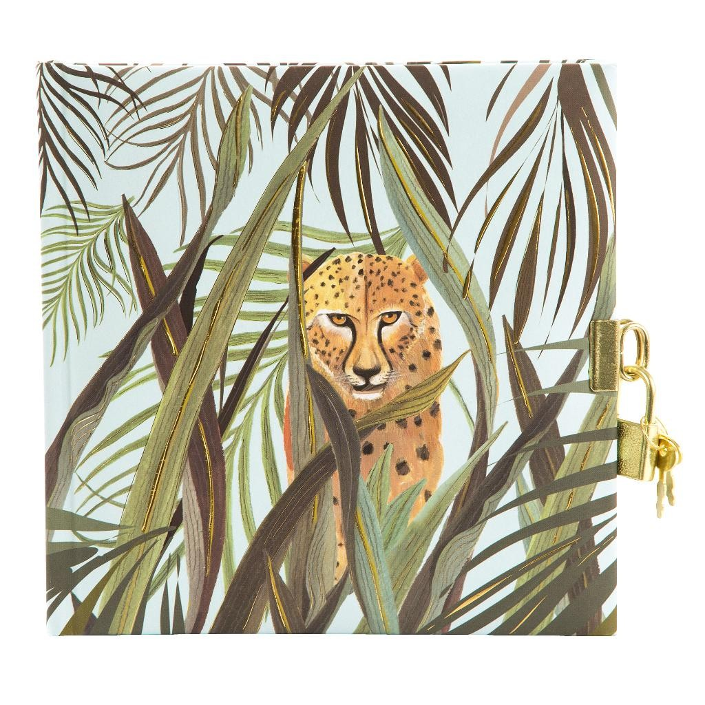 Päevik lukuga Wild Life Leopard