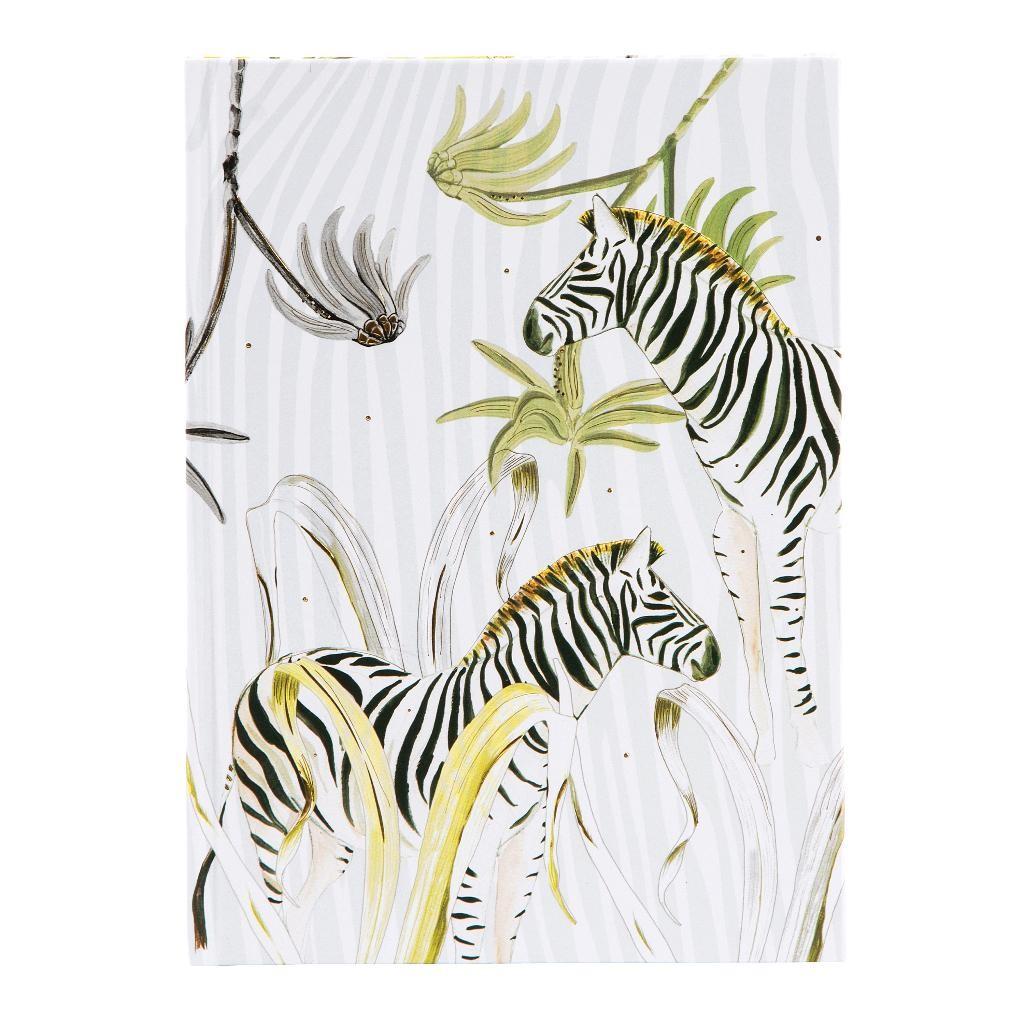Märkmik A5  Wild Life Zebra  200lk
