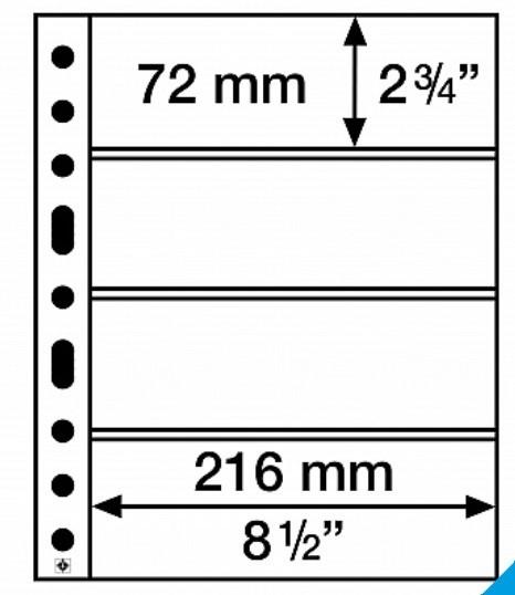 Vaheleht Grande 4C nelja jaotusega 5tk pakis 316329