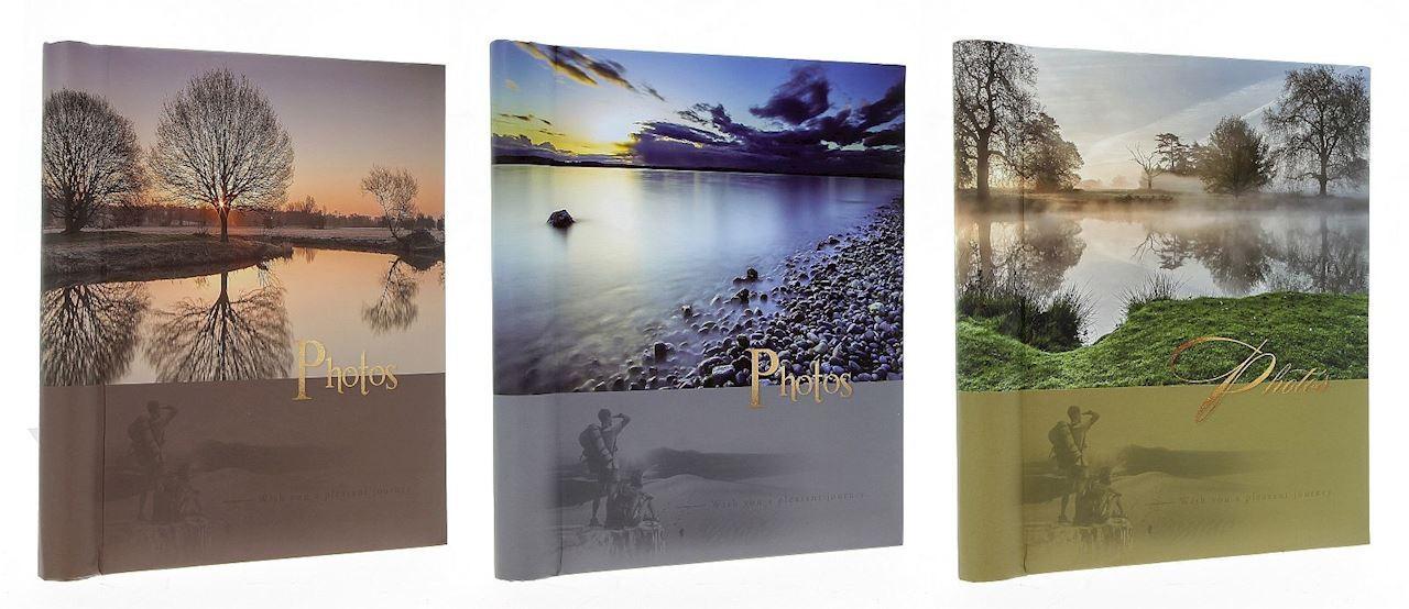 Fotoalbum isekleepuva lehega Sunset