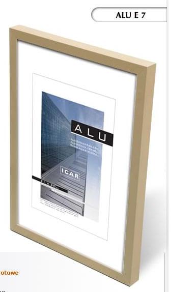Alumiiniumist raam 21x30cm fotole matt  hele oliiviroheline