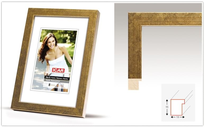 Pildiraam puidust 21x30cm fotole
