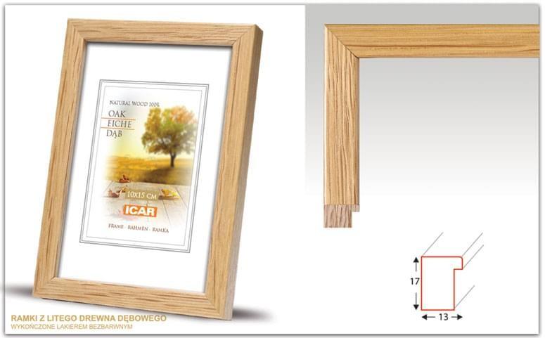 Pildiraam puidust 21x30 fotole