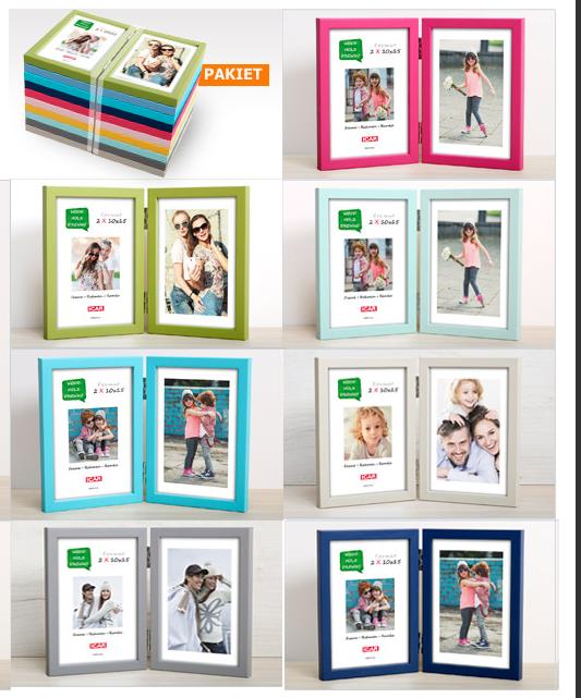 Pildiraam Pinia Mix Color  2x10x15cm fotole