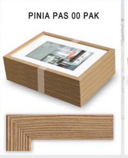 Pildiraam puidust Pinia 21x30cm fotole