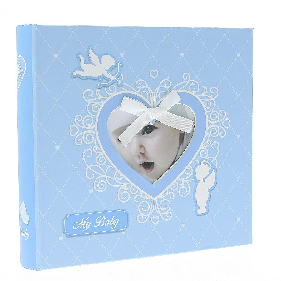 Fotoalbum Baby-40 Blue 200 fotole