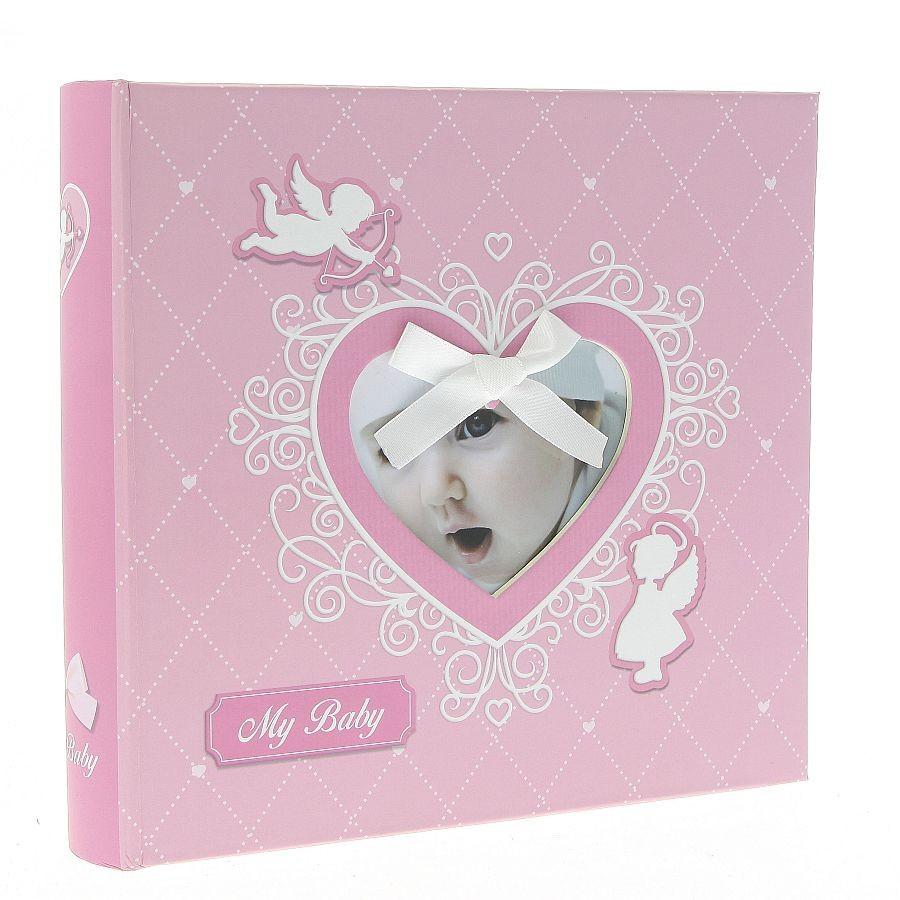 Fotoalbum Baby-40 Pink 200 fotole