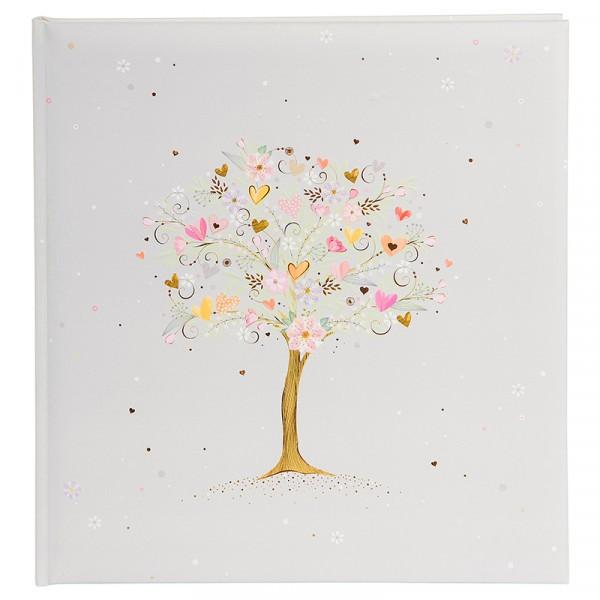 Fotoalbum klassikalise lehega Tree of Love
