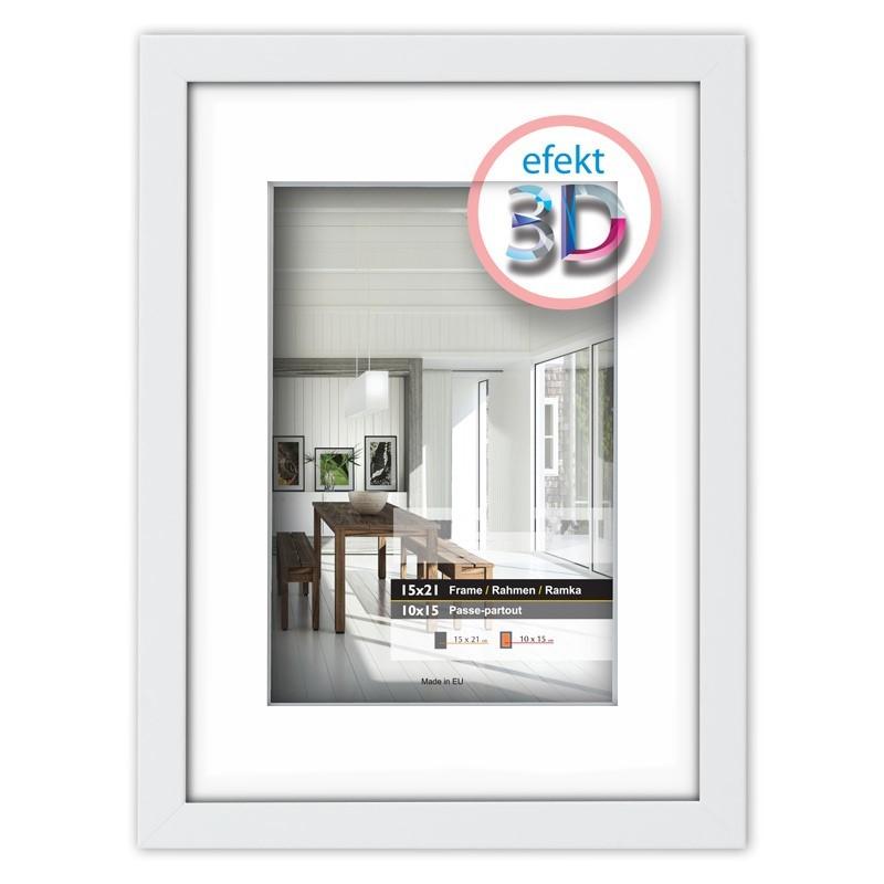 Raam EFEKT 3D 1 20x20cm (11x11cm)
