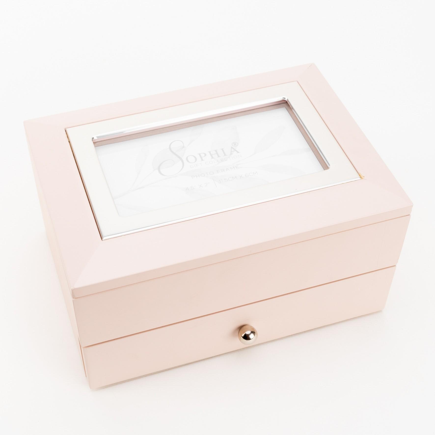 Ehtekarp kahe sahtliga roosa SP3121
