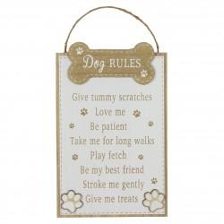 Tahve riputamiseks Dog Rules
