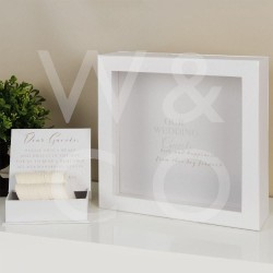 Pruutpaari külaliste soovide karp WG111