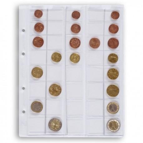 Vahelehed müntidele OPTIMA euro