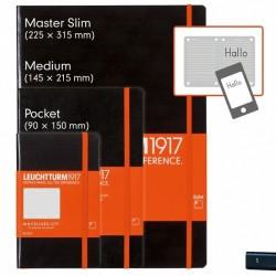 Märkmik A6 Whitelines link täpiline Pocket