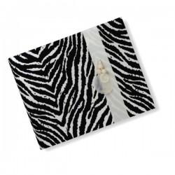 Fotoalbum klassikalise lehega Zebra
