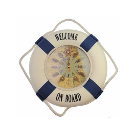 Päästerõngas kellaga Welcome on board