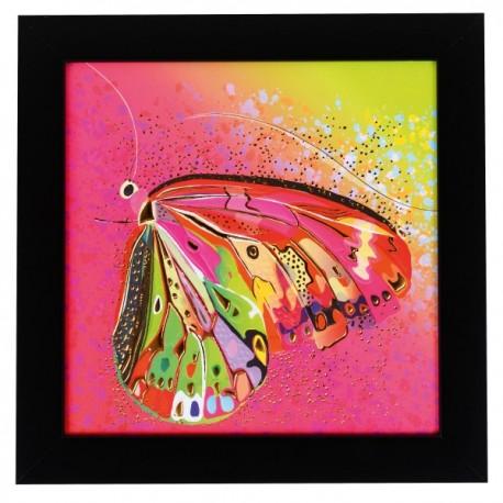 Seinapilt Flower Butterfly pink