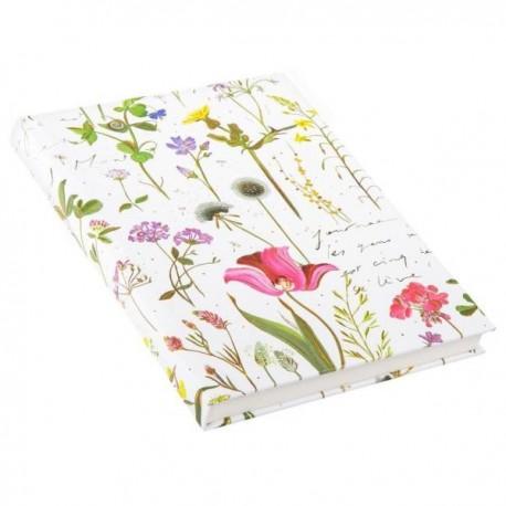 Märkmik A5 200 valget lehekülge Wildflowers