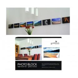 Pildiraam fotole 20x20 Blockframe