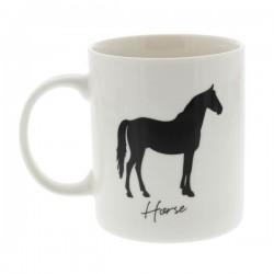 Kruus Style Mug hobuse kujutisega