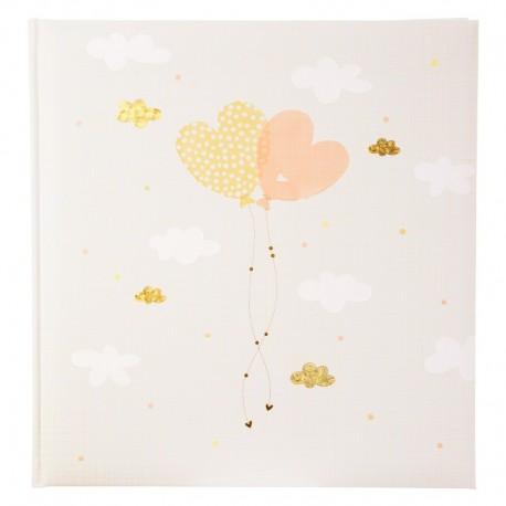 Fotoalbum klassikalise lehega Ballooning Hearts