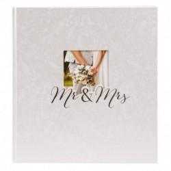 Fotoalbum klassikalise lehega Mr&Mrs