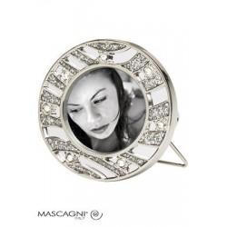 Pildiraam metallist 3x3cm M 277B ring