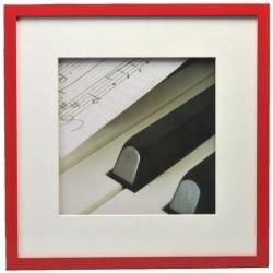 Pildiraam plastikust Piano 20x20/30x30cm
