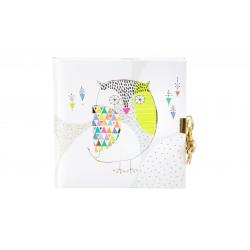 Päevik lukuga Mosaic Owl