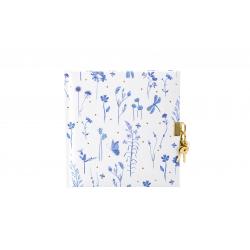 Päevik lukuga Blooming Flowers