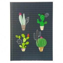 Märkmik A5 200 valget lehekülge Cactus Collection