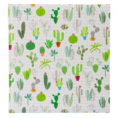 Fotoalbum klassikalise lehega Cactus Collection