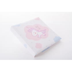 Fotoalbum klassikalise lehega 25x25cm Unicorn Baby Girl 24.128