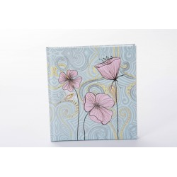 Märkmik 144 valget lehekülge Flora Flower