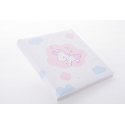 Fotoalbum klassikalise lehega 30x31cm Unicorn Baby Girl 15.128